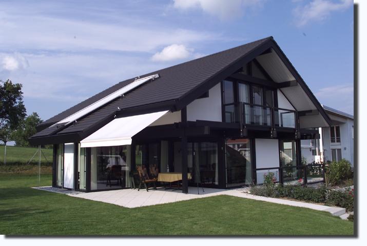 Modernes Fachwerkhaus in Gossau (SG)